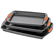 Rachael Ray Yum-o! Bakeware 3-piece Cookie PanSet - K302957