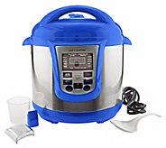 Cooks Essentials 8 qt Digital Stainless Steel Pressure Cooker - K33957