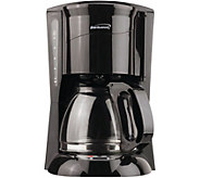 Brentwood Programmable 12-cup Coffee Maker - Black - K375757
