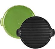Le Creuset 12.25  Round Cast Iron Grill - K45457