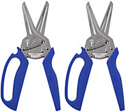 Kuhn Rikon Set of 2 3-in-1 Shears w/ Easy Grip Handle - K45657