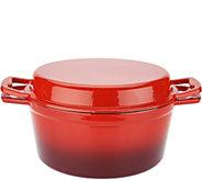 Cooks Essentials 5 qt. Cast Iron Multi-Function Dutch Oven - K46557