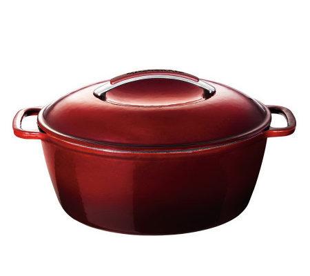 Kitchenaid Cast Iron 6 5 Qt Covered Oval Dutchoven