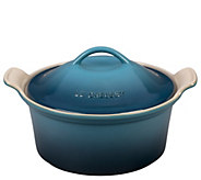 Le Creuset 3-qt Covered Heritage Coquette - K303258