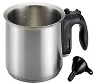 Cake Boss Stainless Steel 1.5-Quart Double Boiler - K303558