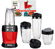 Nutri Ninja iQ 1100 Watt Personal Blender with Recipe Book - K42358