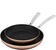 KitchenAid Hard Anodized Nonstick Skillet Set -Toffee Delight - K375359