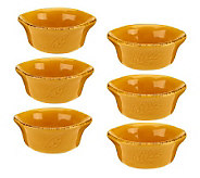 Rachael Ray Cucina Set of 6 3oz. Round Dipper Set - K39959
