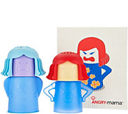 Set of 3 Angry Mama, Chilly Mama & Reusable Wipe - K45759