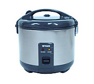 Tiger 3-Cup Stainless Steel Rice Cooker/Warmer - K126560