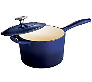 Tramontina Gourmet Enameled Cast-Iron 2.5-qt Covered Saucepan - K300760