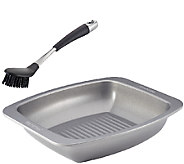 Circulon Nonstick Bakeware Roaster with Cleaning Brush - K304660