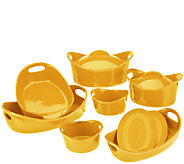 As Is Rachael Ray Bubble & Brown 11-piece Bakeware Set - K307160