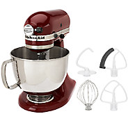 KitchenAid 5 qt. 325 Watt Tilt Head Stand Mixer w/ Flex Edge - K41660