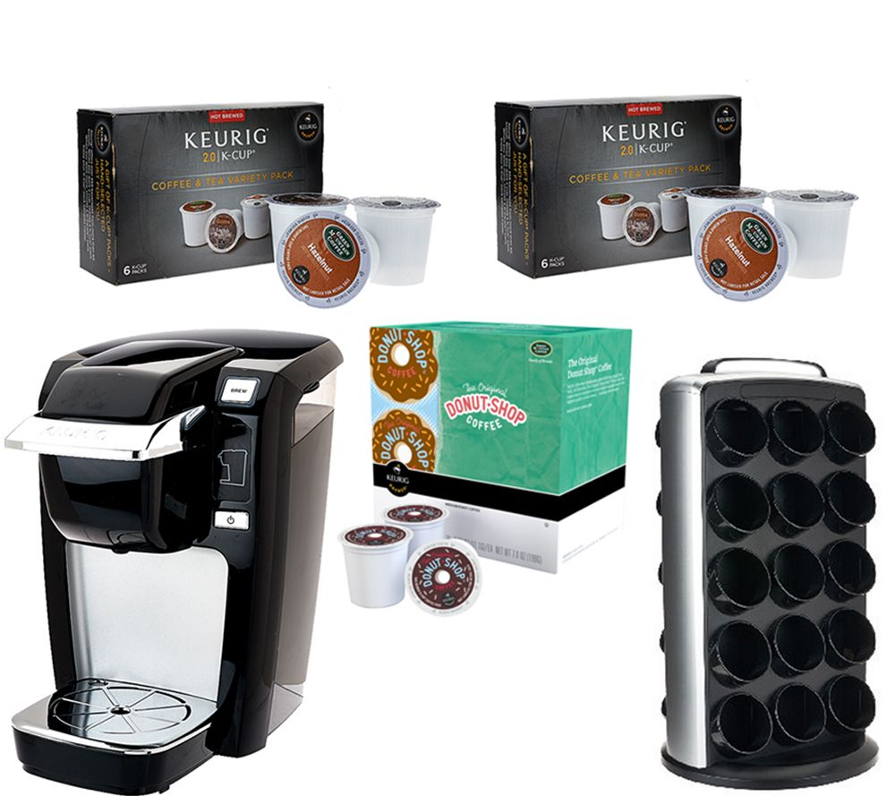 Best Coffee Maker For Pods : Keurig K10 Coffee Maker w/ 30 K-Cup Pods & 30ct Carousel - Page 1 QVC.com