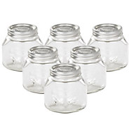Leifheit 25-oz Glass Wide-Mouth Mason Canning Jar - K305461