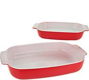 Creo Smartglass Set of 2 Baking Dish Set - K35861