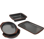 CooksEssentials 4-piece Nonstick Trivetless Bakeware Set - K42961