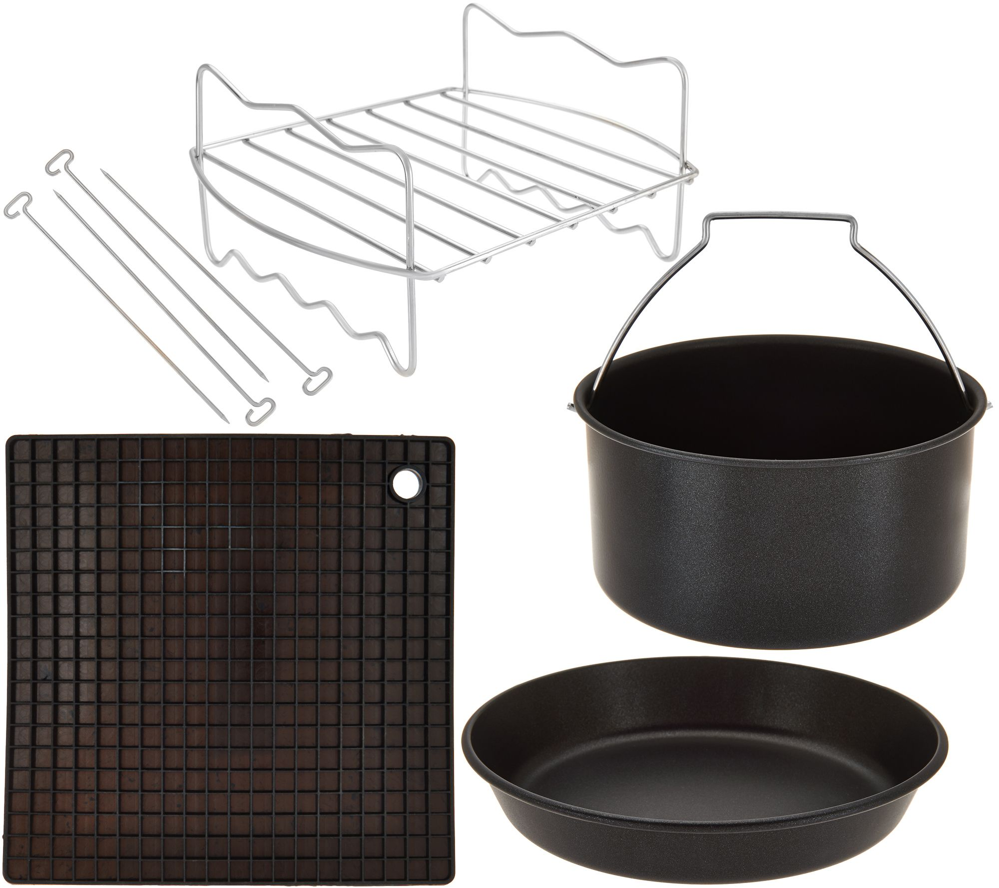 cook s essentials air fryer accessory kit page 1 qvc