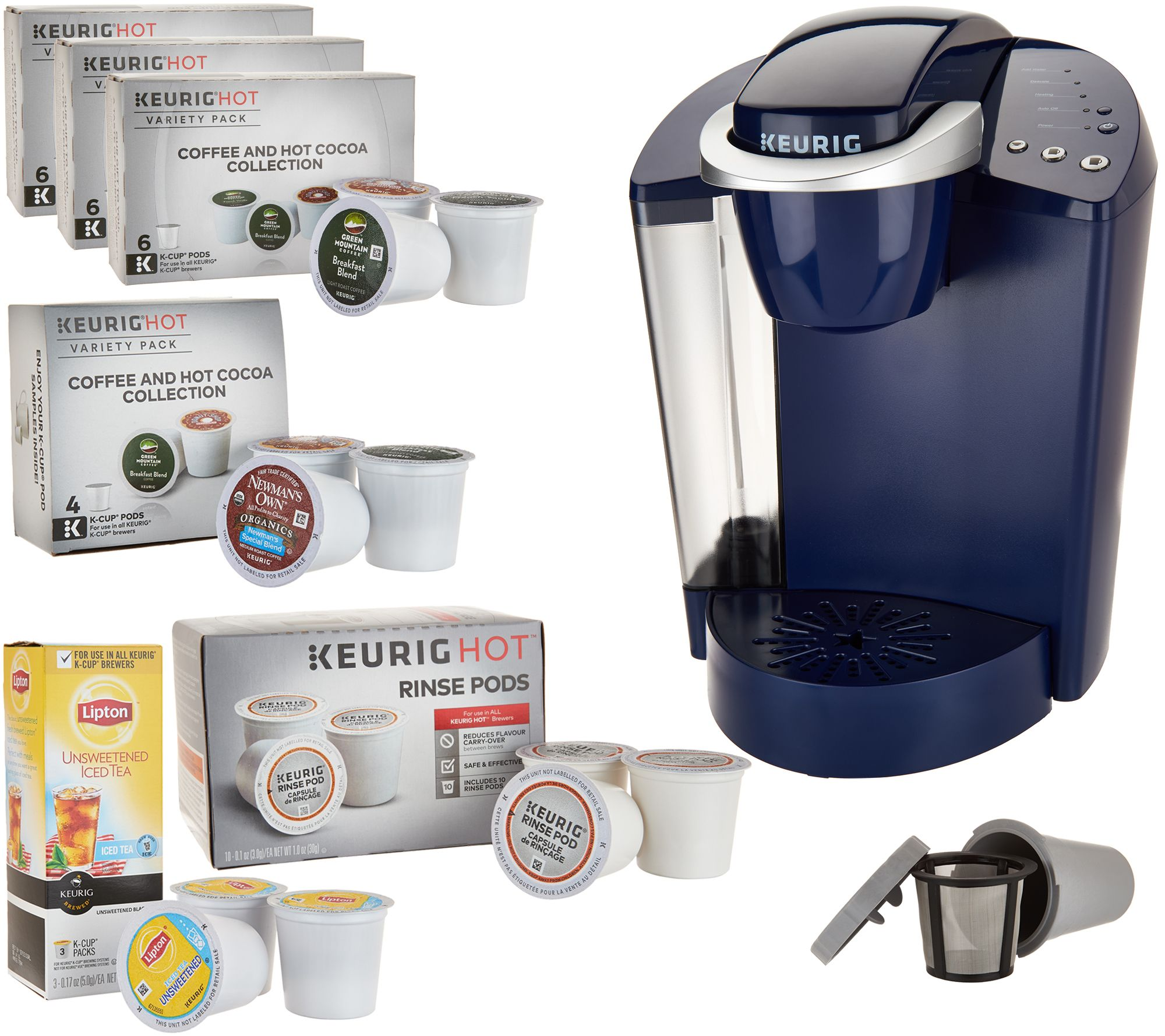 keurig k55 coffee maker w my kcup 31 kcup pods u0026 water filters page 1 u2014 qvccom - Espresso K Cups