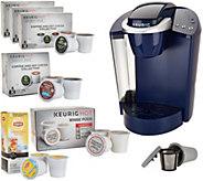 Keurig K55 Coffee Maker w/ My K-Cup, 31 K-Cup Pods & Water Filters - K46161