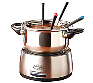 Nostalgia Electrics Stainless Steel Electric Fondue Pot - K299462