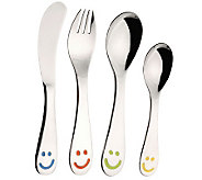 BergHOFF Smiley 4-Piece Flatware Set - K300262