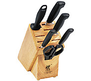 Zwilling J.A. Henckels Four Star 7 Piece KnifeBlock Set - K304562