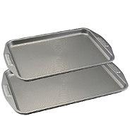 Circulon Nonstick Bakeware Two-Piece Cookie Sheet Set - K304662
