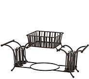Gourmet Basics by Mikasa Band & Stripe Buffet Caddy - K304762