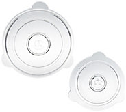 Cuchina Safe Set of 2 Universal Glass Lids - K42862