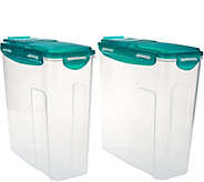 Lock & Lock 2-piece Cereal Keeper Storage Set - K43662