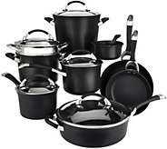 Circulon Symmetry 14-pc Nonstick Hard Anodized Cookware Set - K45262