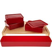 Cooks Essentials Kitchen Prep and Storage Station - K46262