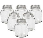 Leifheit 34-oz Glass Wide-Mouth Mason Canning Jar - K305463