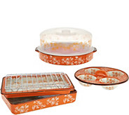 As Is Temp-tations Floral Lace 7pc Multifunctional Set - K307763