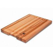 Solid Edge Grain Maple 12 x 18 x 1-1/4 Cutting Board - K129964