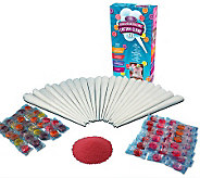 Nostalgia Electrics HCK-800 Hard & Sugar-Free Cotton Candy Kit - K299464