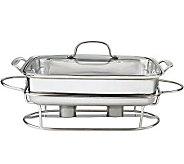 Cuisinart Stainless Steel 5-quart Rectangular Buffet Server - K300864