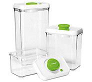Cuisinart 6-pc Vacuum-Seal Food Storage Container Set - K302864