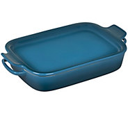 Le Creuset Stoneware Rectangular Dish with Platter Lid - K304864