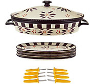 Temp-tations Old World Corn Cob Baker Set - K43564