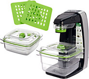 FoodSaver FreshSaver w/ Containers & Zipper Bags - K45664