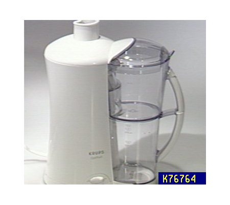 Krups Slow Juice Extractor : Krups Optifruit Juice Extractor w/Pitcher - K76764 QvC.com