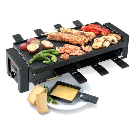 Toastess 8 Person Raclette Grill