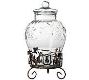 Gibson Home 2.6-gallon Bell-Shaped Beverage Dispenser - K303965