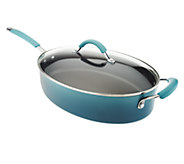 As Is Rachael Ray Gradient Cucina 5qt Covered Oval Saute - K307265