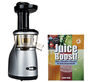 As Is Omega VRT 350HD Low Speed Juicer with Recipe Book - K307465