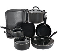 Circulon 13-pc. Hard Anodized Dishwasher Safe Cookware Set