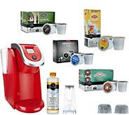 Keurig 2.0 K250 Coffee Maker w/ 31 K-Cup Pods & Water Filter Starter Kit - K43265